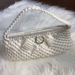 Crochet Baguette Clutch